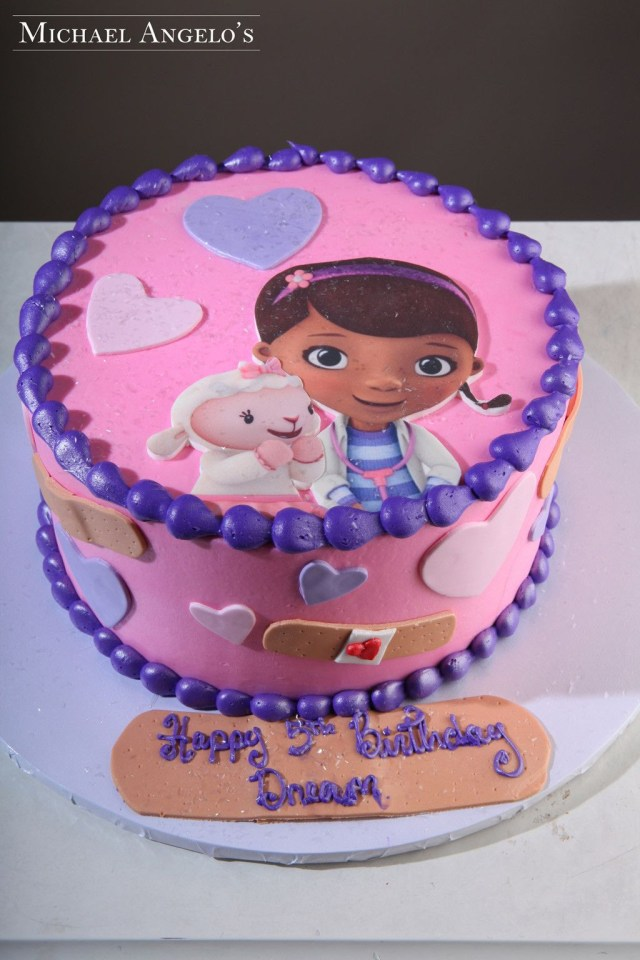 Doc Mcstuffin Birthday Cakes Doc Mcstuffins Cake Small Google Search Doc Mcstuffin