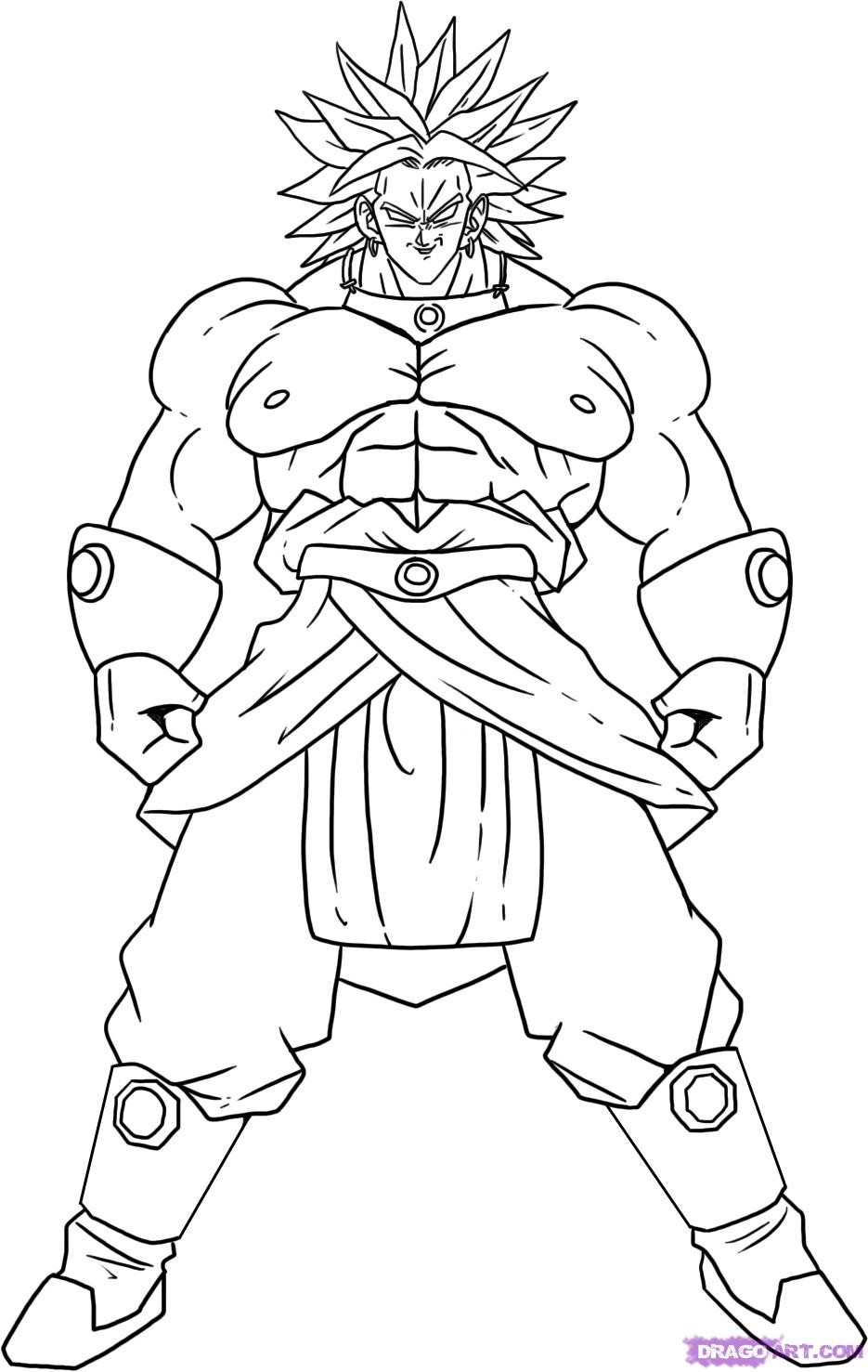 Dragon ball super coloring pages free printable dragon ball z coloring pages for kids