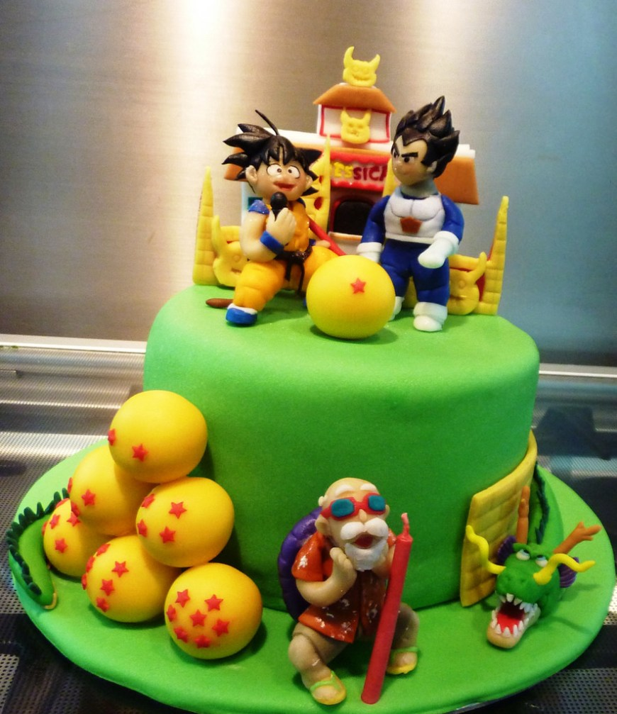 Dragon Ball Z Birthday Cake 11 Professional Dragon Ball Z Cakes Photo Dragon Ball Z Cake