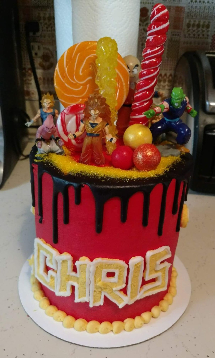 Dragon Ball Z Birthday Cake Awesome Dragon Ball Z Cake Imgur