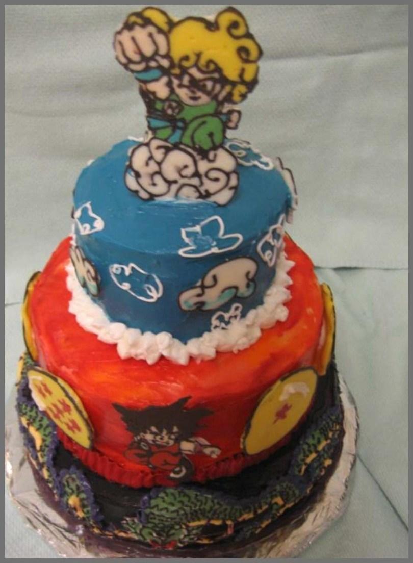 Dragon Ball Z Birthday Cake Dragon Ball Z Birthday Cake Astonishing 16 Best Images About