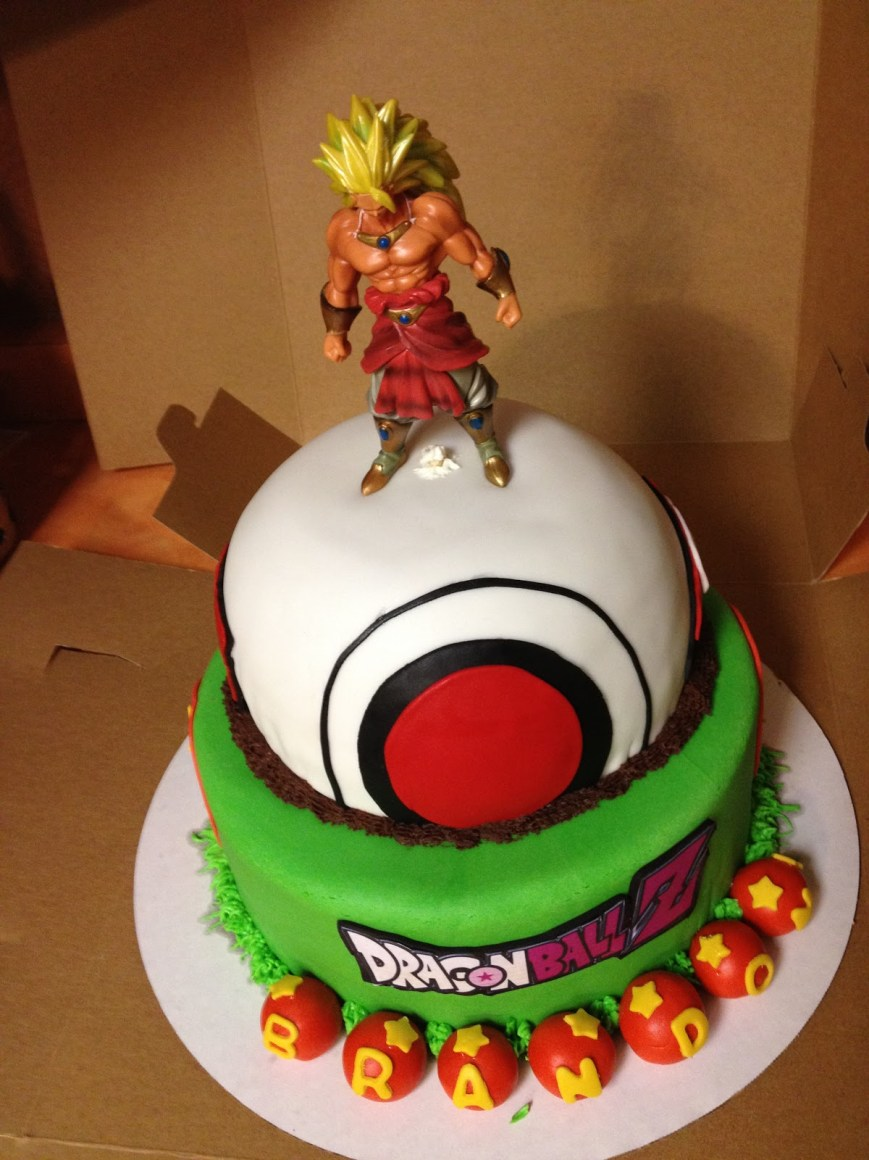 Dragon Ball Z Birthday Cake Love To Bake Drazon Ball Z Cake