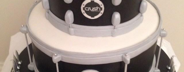 Drum Birthday Cake Snare Drum Cake Crush Drums Jojo B Drum Birthday Cakes Drum