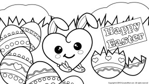 Easter Coloring Pages For Kids Free Coloring Easter Pages Cosmo Scope