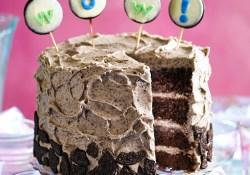 Easy Birthday Cake Recipes Cookies Cream Party Cake Recipe Bbc Good Food