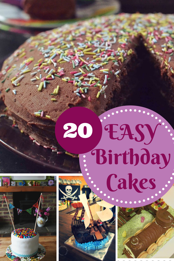 Easy Birthday Cake Recipes Easy Birthday Cake Recipes In The Playroom