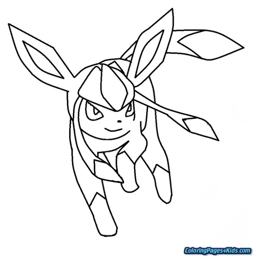 Eevee Evolutions Coloring Pages Pokemon Eevee Evolutions Coloring Pages Free Printable Coloring Pages
