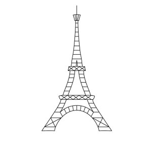 Eiffel Tower Coloring Page Eiffel Tower Coloring Page Eiffel Tower Coloring Pages Colouring