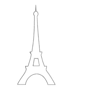 Eiffel Tower Coloring Page Paris Eiffel Tower Coloring Pages