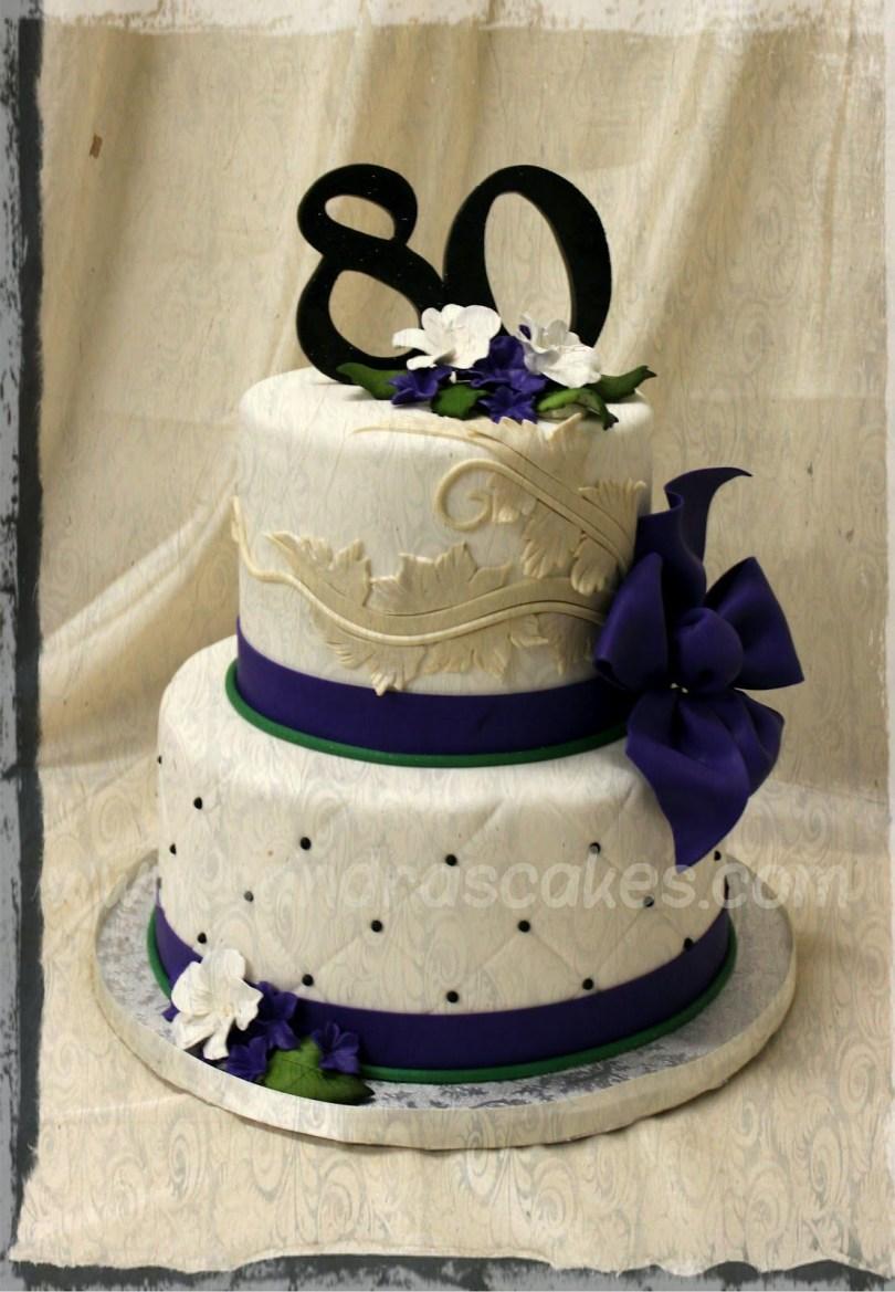 Elegant Birthday Cake Images Elegant 80th Birthday Cakes Elegant Birthday Cakes On 80th Cake