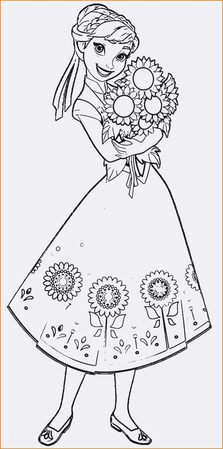 Elsa Anna Coloring Pages Frozen Elsa Anna Coloring Page