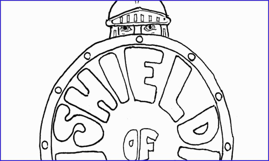 Faith Coloring Pages Custom Coloring Books For Businesses Astonishing Shield Faith
