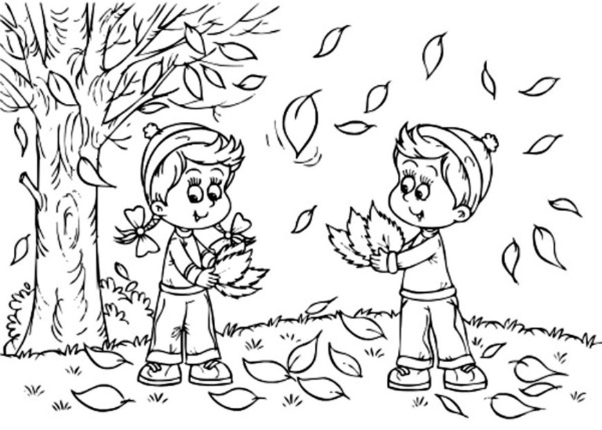 Fall Coloring Pages Fall Coloring Pages Printables Printable Fall Coloring Pages For