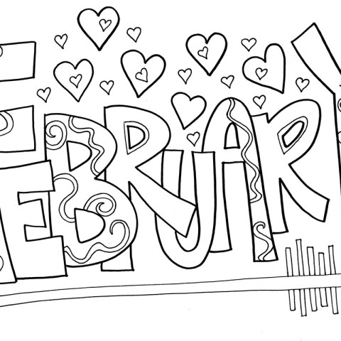 February Coloring Pages February Coloring Pages Best Coloring Pages For Kids