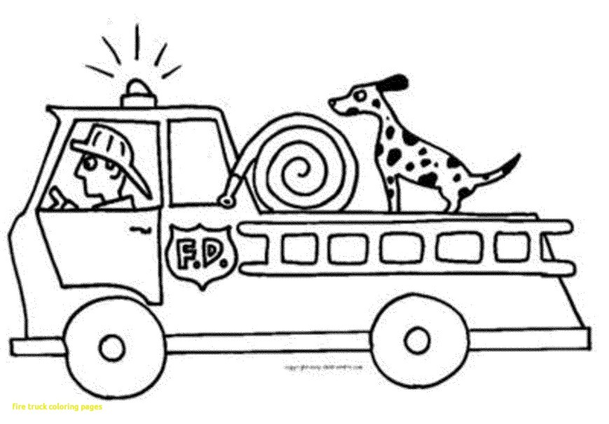 Fire Truck Coloring Page Fire Truck Printable Images For Coloring Coloring Pages