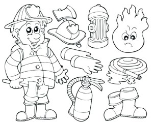 Fireman Coloring Pages Minions Fireman Coloring Page Coloring Book Adult Pages New
