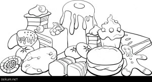 Food Coloring Pages Dinosaur King Coloring Pages Food Colouring Pages Food Coloring Book