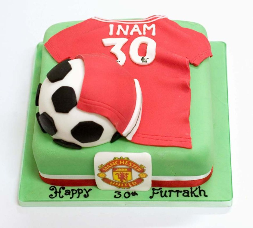 Football Birthday Cake Football Cakesoccer Cakeboys And Mens Birthdayedinburghglasgow