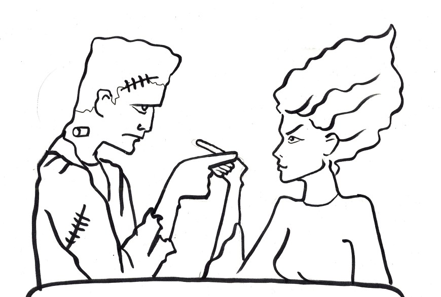 Frankenstein Coloring Pages Frankenstein Coloring Pages 12 Cute 7 Futurama