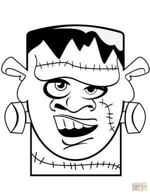 Frankenstein Coloring Pages Frankenstein Coloring Pages Free Coloring Pages