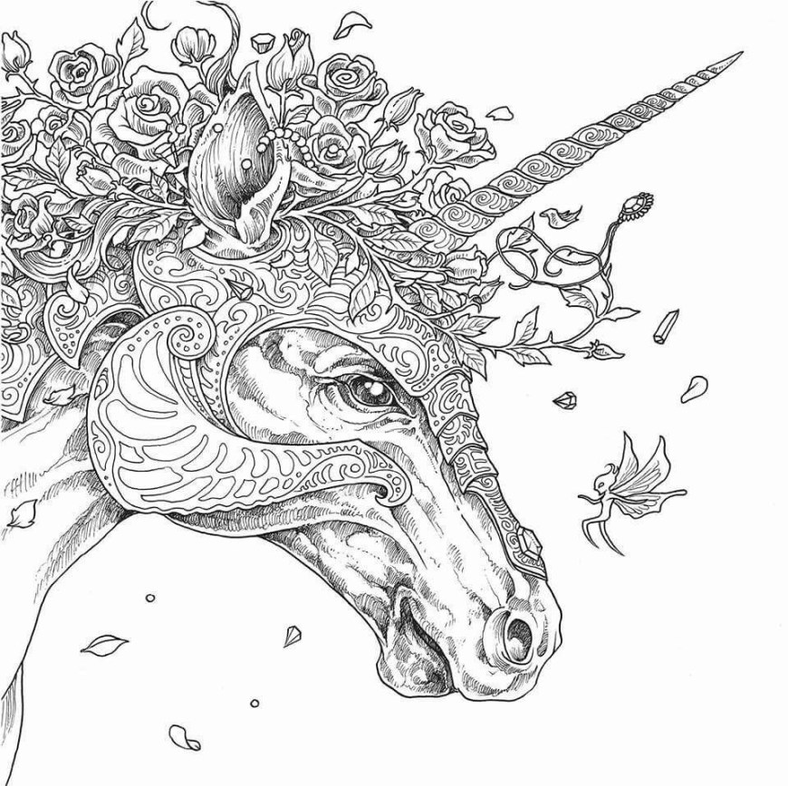 Free Adult Coloring Pages To Print Marvelous Idea Adult Coloring Pages Unicorn Fattkay Unicorns