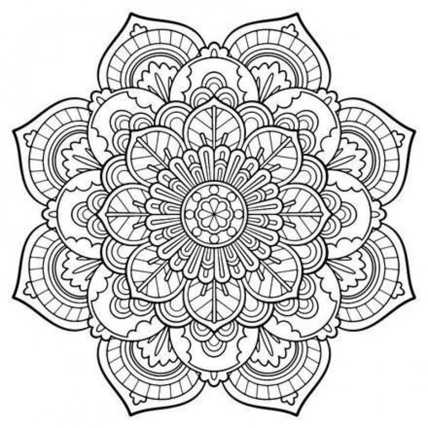 Free Coloring Pages Adults Mandala Coloring Pages Adults Free Best Of Get This Free Mandala