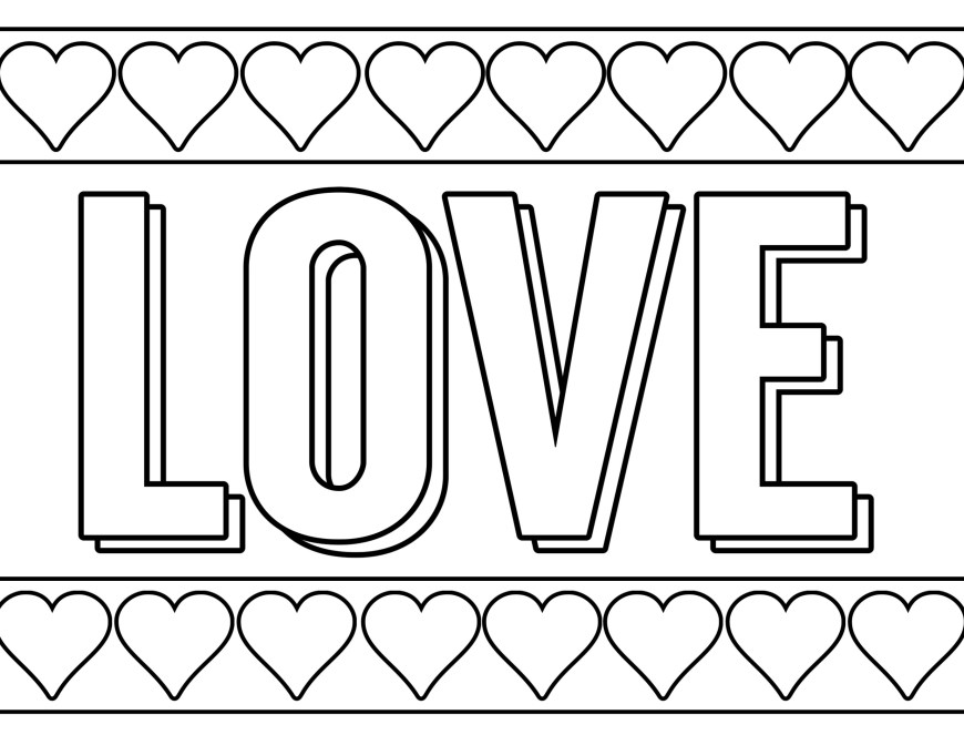 Free Printable Valentine Coloring Pages Free Printable Valentine Coloring Pages Paper Trail Design