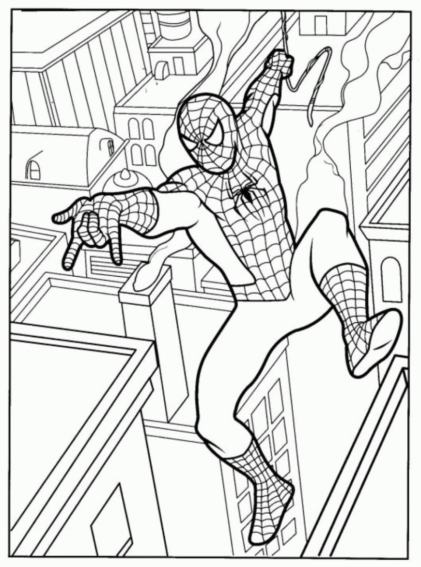 Free Spiderman Coloring Pages 73 New Photos Of Free Printable Spiderman Coloring Pages Coloring