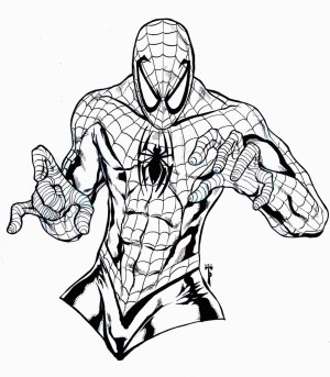Free Spiderman Coloring Pages Free Printable Spiderman Coloring Pages For Kids For Black Spiderman