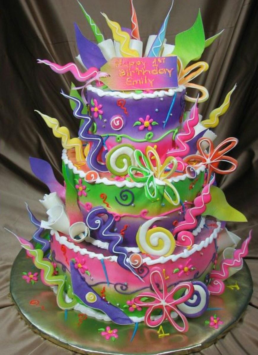 Fun Birthday Cakes Funky Fun Birthday Cake Birthday Party Ideas For Girls Cake