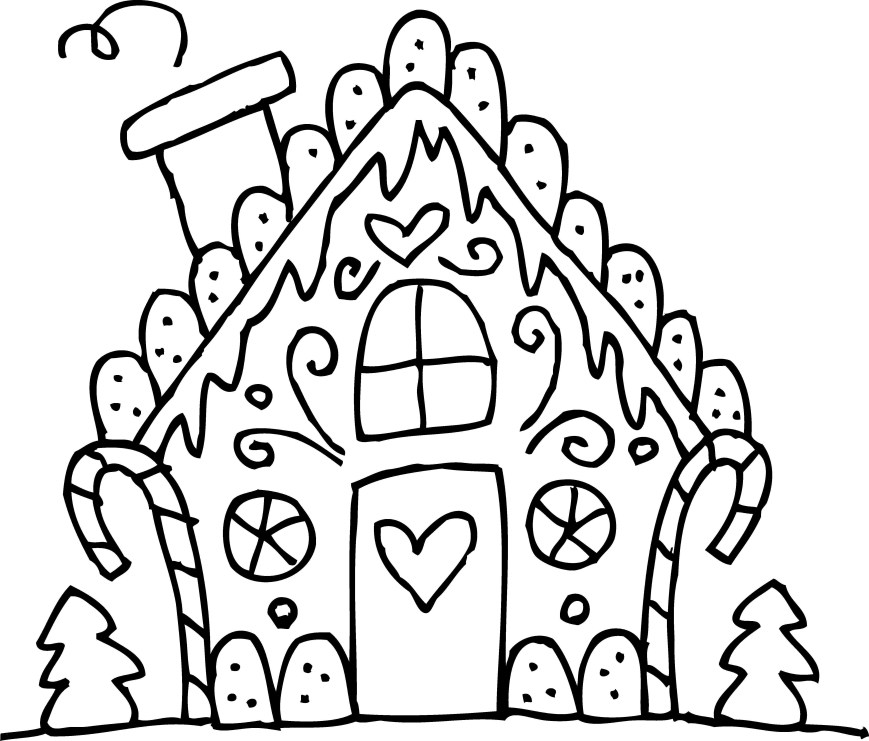 Gingerbread House Coloring Pages Loud House Coloring Pages Awesome Collection Of Gingerbread House