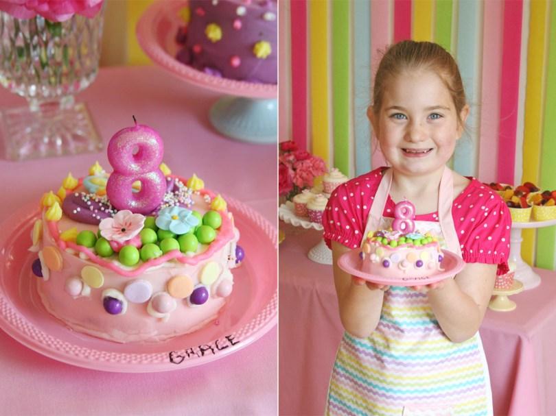 Girl Birthday Cake Ideas Graces Cake Decorating Party Glorious Treats