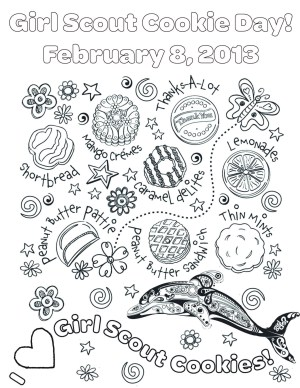 Girl Scout Coloring Pages Girl Scout Coloring Pages Coloring Pages For Children