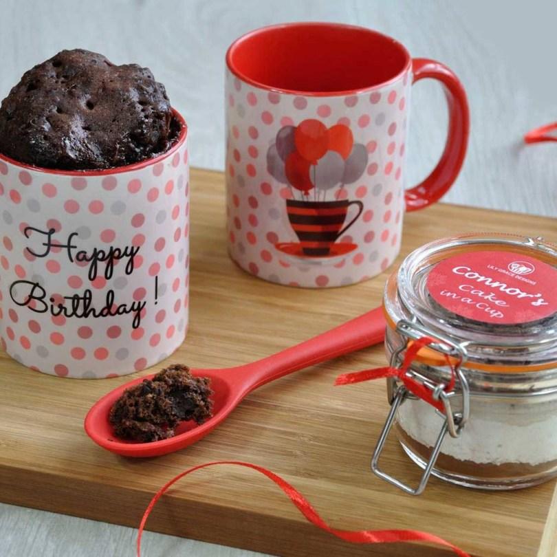 Gluten Free Birthday Cakes Gluten Free Spotty Dotty Choccy Birthday Cake Kit Lily Grace