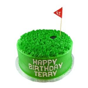 Golf Birthday Cakes 45 On The Green Golf Birthday Cake Whimsical Cake Studio