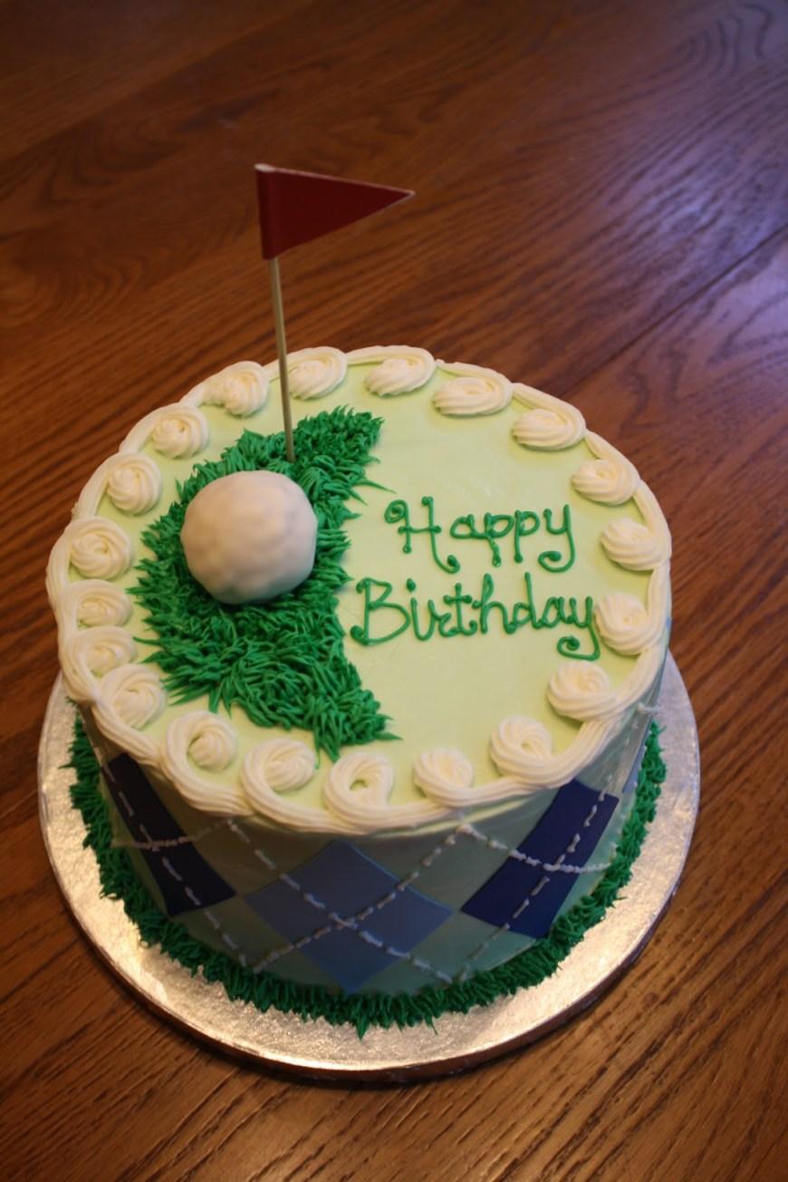 Golf Birthday Cakes Cakes Elizabeth June 2012 Golf Theme Birthday Cake