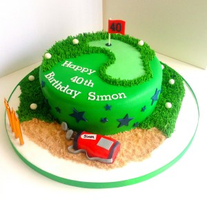 Golf Birthday Cakes Golf Birthday Cake Heavenly Cupcakes Flickr