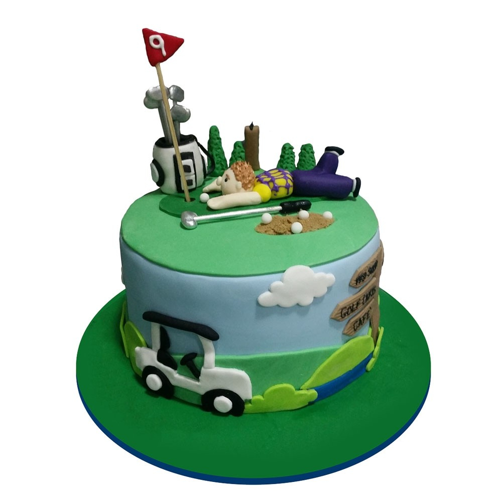 30+ Creative Photo of Golf Birthday Cakes