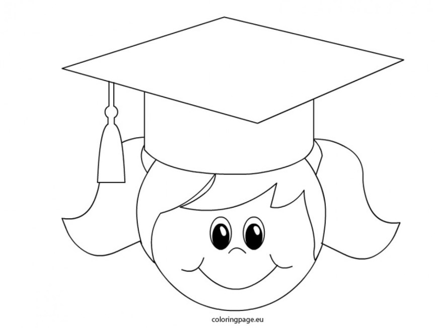 Graduation Coloring Pages Approved Graduation Coloring Pages With Wallpaper Background At