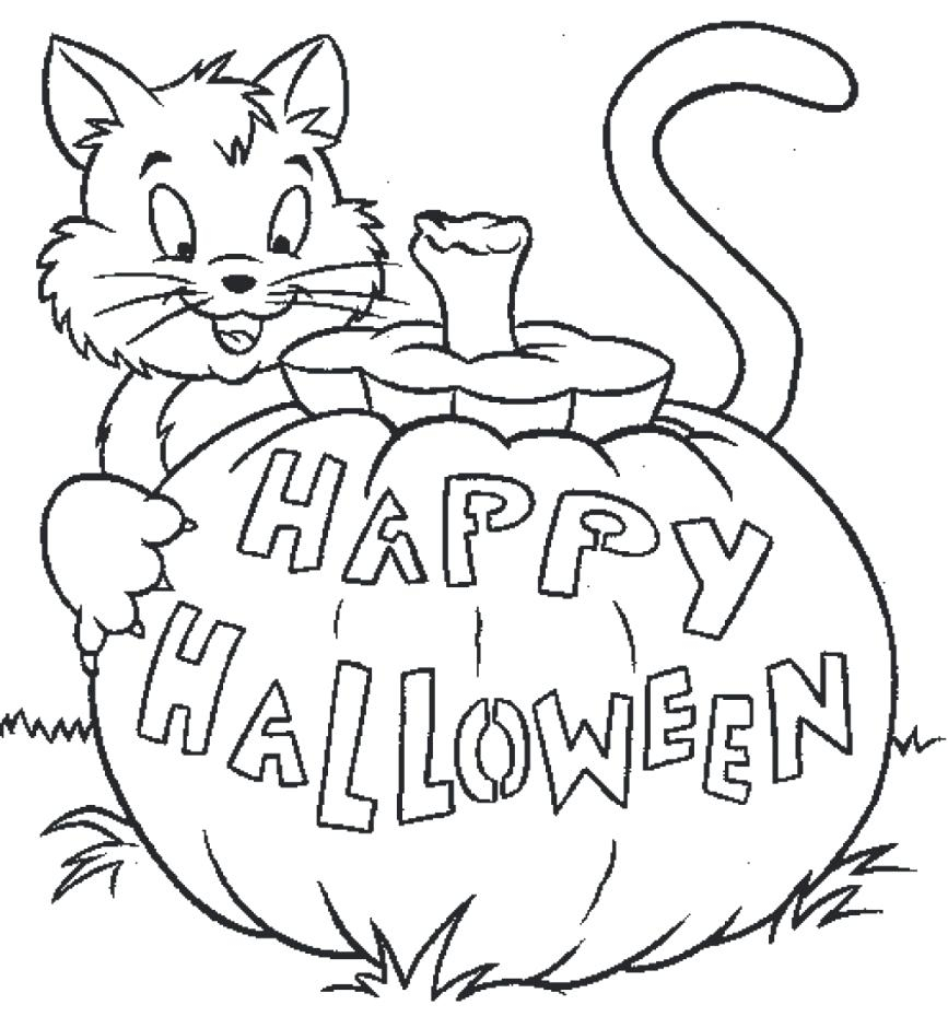 Halloween Cat Coloring Pages Halloween Cat Coloring Pages Scary Cat Coloring Page Halloween Black