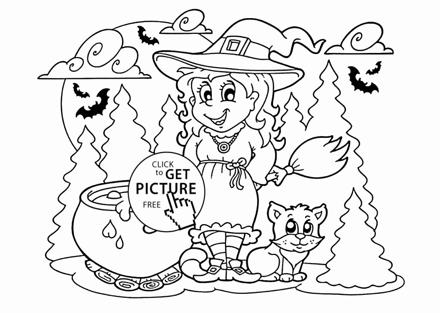Halloween Cat Coloring Pages Halloween Cat Coloring Pages