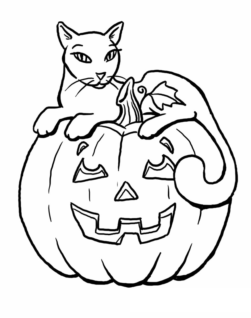 Halloween Cat Coloring Pages Scary Black Cat Coloring Pages Best Of Top Rated Halloween Cat