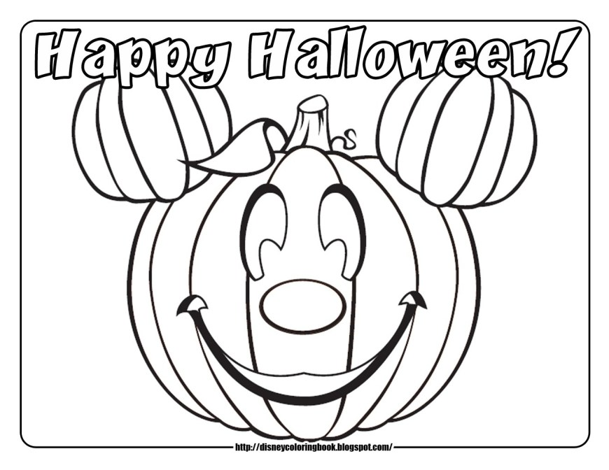 Halloween Coloring Pages Free Disney Halloween Coloring Pages Free Ironenclave