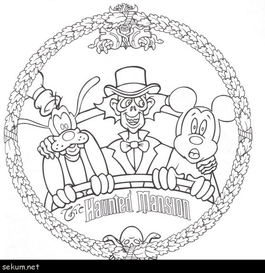 Halloween Coloring Pages Free Disneyland Rides Coloring Pages Free Disney Halloween Coloring Pages