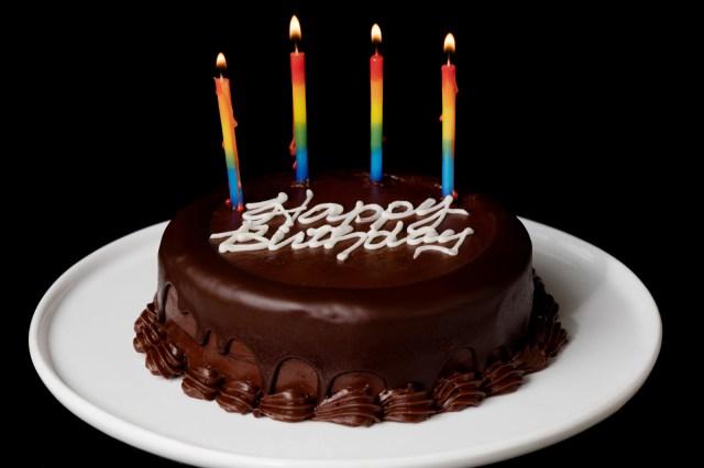 Happy Birthday Cake Images 2 Layer Chocolate Birthday Cake Send Birthday Cakes Online