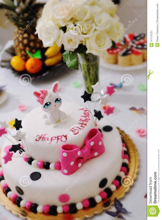 Happy Birthday Cake Images Happy Birthday Cake Stock Image Image Of Dessert Confection 47174737