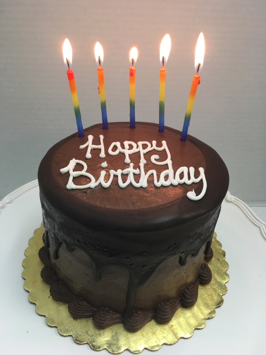 Happy Birthday Cake Images Moist Chocolate Layer Cake Tall Birthday Cake Fort Lauderdale
