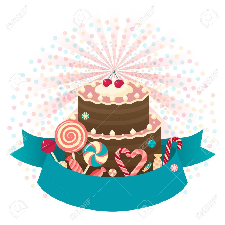 Happy Birthday Cake Pic Happy Birthday Cake Background With Place For Text For Any Design