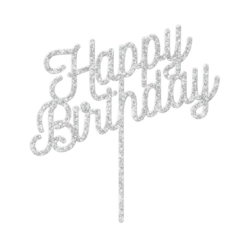Happy Birthday Cake Topper Happy Birthday Cake Topper Cake Decorating Supplies