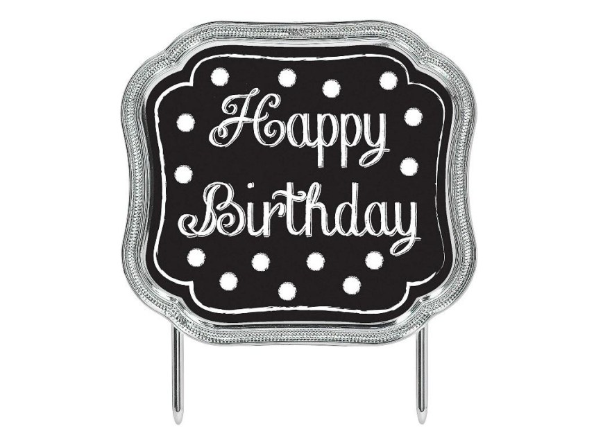 Happy Birthday Cake Topper Sweet Pea Parties Cake Toppers Decorations